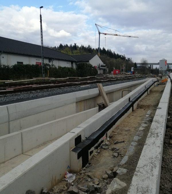 Neue Fußgängerunterführung am Bahnhof Bad Neuenahr