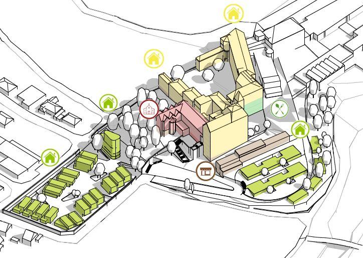 Investorengruppe plant Wohnungen und gastronomische Betriebe auf dem Calvarienberg